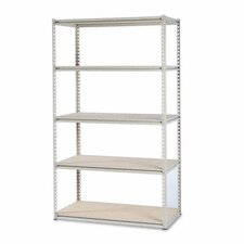"Tennsco Stur-D-Stor 84"" H 4 Shelf Shelving Unit Starter"