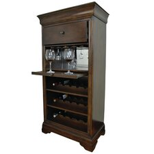 Bar Cabinet With 15 Bottle Wine Bar