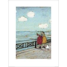 Kunstdruck Her Favourite Cloud von Sam Toft