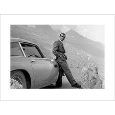 "Photodruck James Bond ""Aston Martin"""