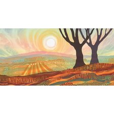 Scorched Earth by Rebecca Vincent Canvas Wall Art