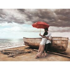 And This Too Shall Pass by Daniel Del Orfano Art Print on Canvas