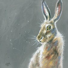Herbert by Louise Brown Canvas Wall Art