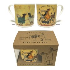 Sam Toft The Doggie Taxi Service Mug