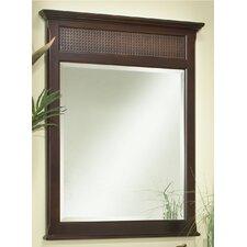 St. Bart's Framed Mirror