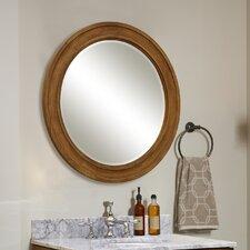 """Ovation 30"""" Round Framed Mirror"""