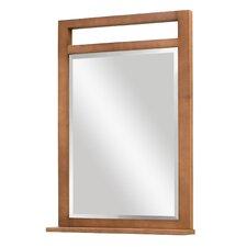 Lawton Framed Mirror with Shelf