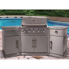 226cm Bahama Island Gas Barbecue