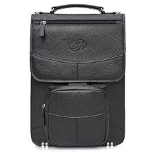 Premium Leather Laptop Flight Case