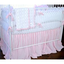 Butterfly Tales 100% Cotton 4 Piece Crib Bedding Set