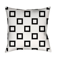 Band Printed Throw Pillow