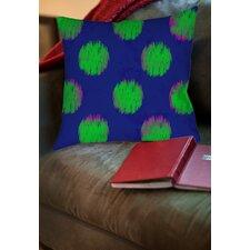 Big Dots Printed Throw Pillow