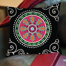 Boho Medallion Printed Throw Pillow