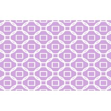 Modern Geometric Lavender Rug