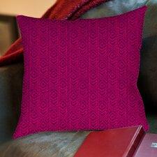 Sketched Ikat Printed Throw Pillow