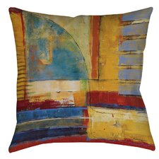 Arena 1 Printed Throw Pillow