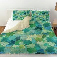 Aqua Bloom Water Blends Duvet Cover