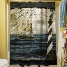 Timeless Voyage II Shower Curtain