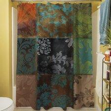 Velvet Patch Shower Curtain