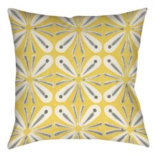 Citron and Slate 1 Indoor/Outdoor Throw Pillow