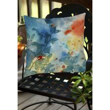 Color Play 1 Indoor/Outdoor Throw Pillow