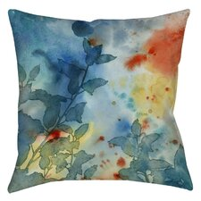 Color Play 1 Printed Throw Pillow