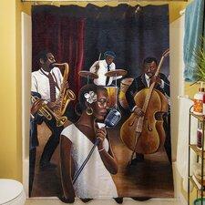 Jazz Affair Shower Curtain