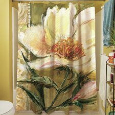 Sketchbook Floral Shower Curtain