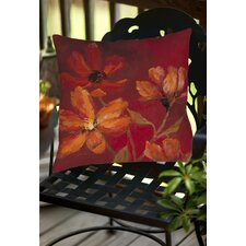 Ray of Sunshine Indoor/Outdoor Throw Pillow