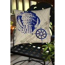 Nautical Rope Indoor/Outdoor Throw Pillow