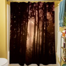 Forest Skyline Shower Curtain