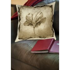 Floral Impression 9 Printed Throw Pillow