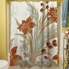 Garden Tile III Shower Curtain