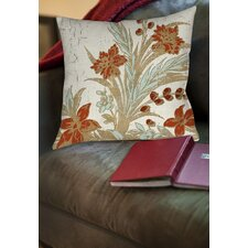 Garden Tile 3 Printed Throw Pillow