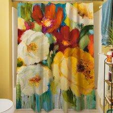 Flower Power I Shower Curtain