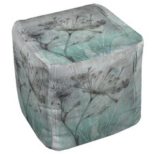 Ombre Wildflowers 1 Ottoman