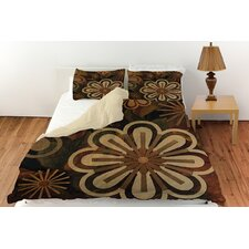 Floral Abstract II Duvet Cover Collection