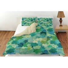 Aqua Bloom Water Blends Duvet Cover Collection