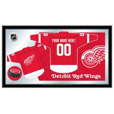NHL Jersey Mirror Framed Graphic Art