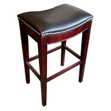 "Lynn 25"" Bar Stool with Cushion"
