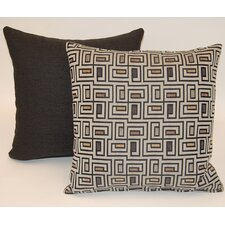 2 Piece Urban Knife Edge Throw Pillow Set
