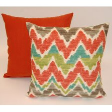 Timissa 2 Piece Knife Edge Cotton Throw Pillow Set