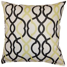 Make Waves Cotton Throw Pillow