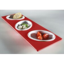 Small Entities Finger Food Condiment Server