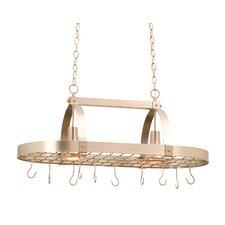 2 Light Hanging Pot Rack