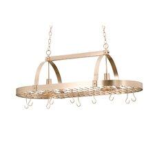 Hanging Pot Rack with 2 Light
