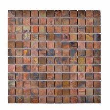 Metal Mosaic Tile in Brown