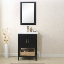 "24"" Single Vanity Set with Mirror"
