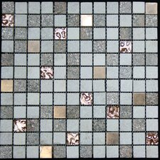 Glass Metal Tile in Multi-Color