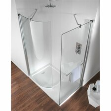 Hydr8 Walk In Curved Panel Shower